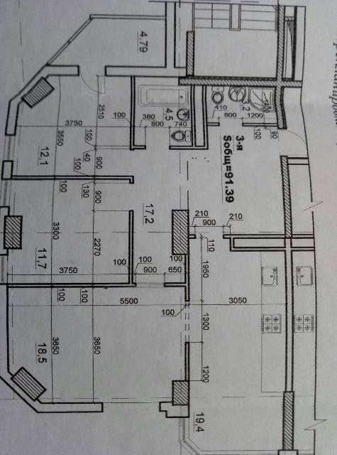 Продаю 3-комнатную квартиру в Одессе Таирова - фото №7 объявления №35016