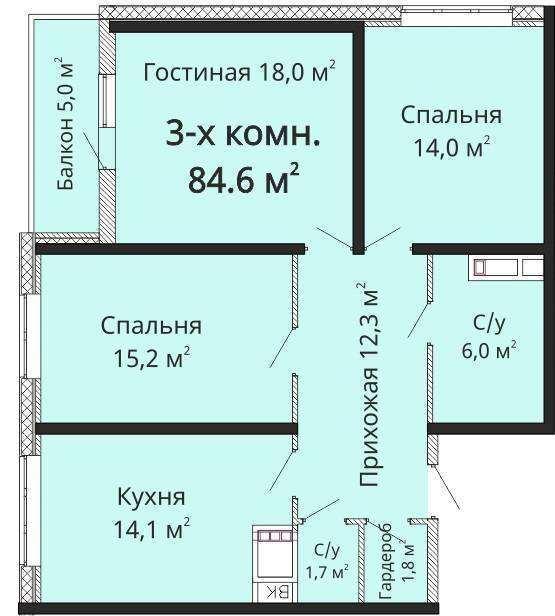 Продаю 3-комнатную квартиру в Одессе Костанди - фото №3 объявления №36047