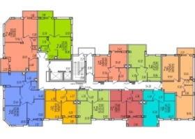 Планировки квартир в ЖК Маршал-Сити