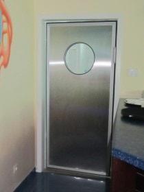 Маятниковые двери ПВХ