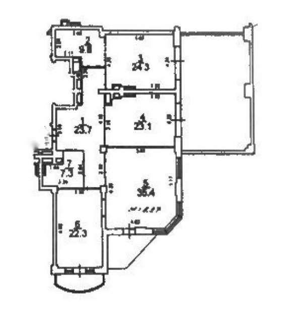 Сдаю 3-комнатную квартиру в Одессе Генуэзская - фото №14 объявления №6620